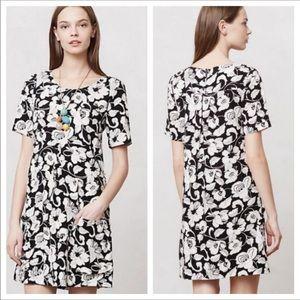 Anthropologie Maeve Zola Shift Floral Dress